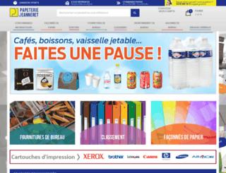 j-papeterie.fr screenshot
