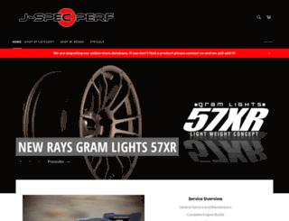 j-specperf.ch screenshot