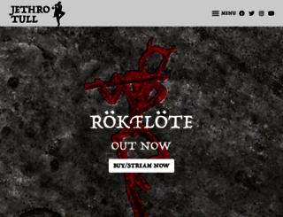 j-tull.com screenshot