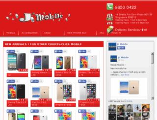 j2mobile.com.sg screenshot