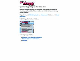 j3an3tt3.bloggy.se screenshot