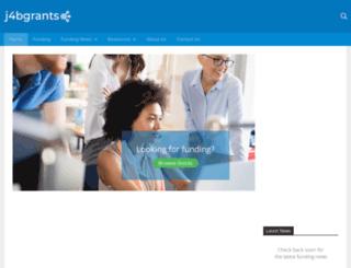 j4bgrants.co.uk screenshot