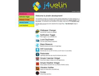 j4velin.de screenshot