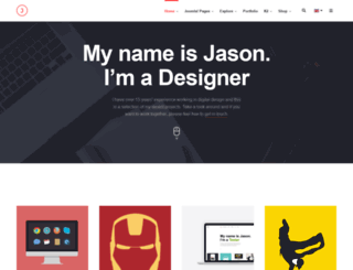 ja-jason.demo.joomlart.com screenshot