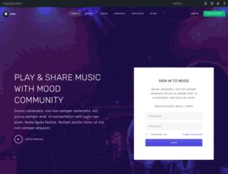 ja-mood.demo.joomlart.com screenshot