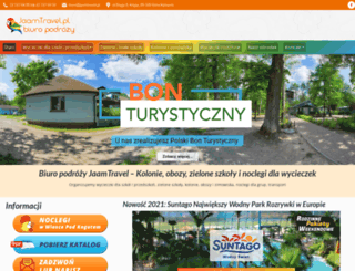 jaamtravel.pl screenshot