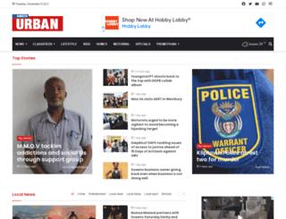 jabavuurbannews.co.za screenshot