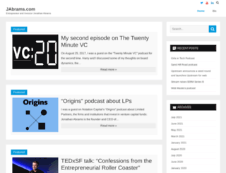 jabrams.com screenshot