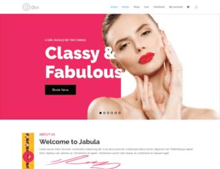 jabula-hair.com screenshot
