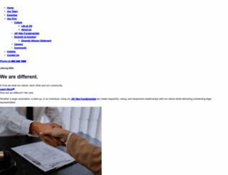 jaburgwilk.com screenshot