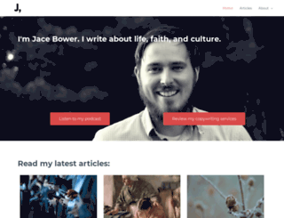 jacebower.com screenshot