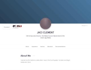 jaciclement.branded.me screenshot