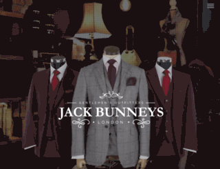 jackbunneys.co.uk screenshot