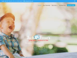 jackfrosts.net screenshot