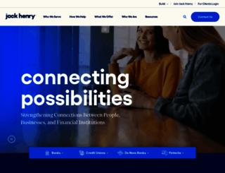 jackhenrybanking.com screenshot