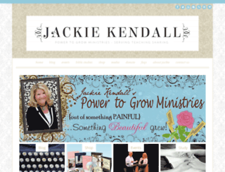 jackiekendall.com screenshot