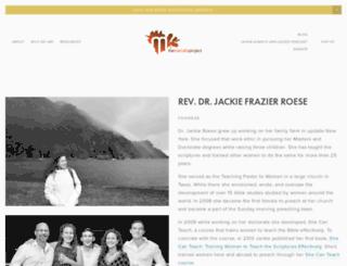 jackiereese.com screenshot