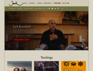 jackkornfield.com screenshot