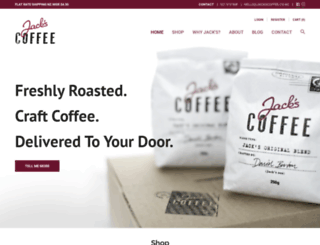 jackscoffee.co.nz screenshot