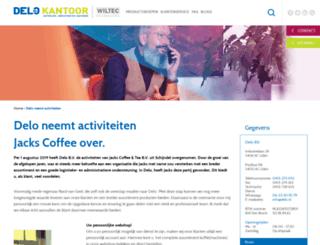 jackscoffeeandtea.com screenshot