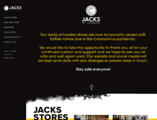 jacksmalegrooming.com screenshot