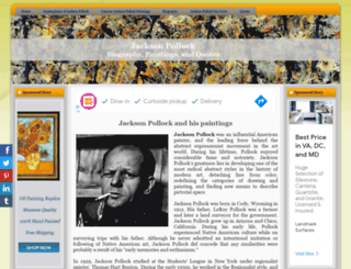 jackson-pollock.org screenshot
