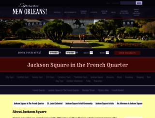jackson-square.com screenshot