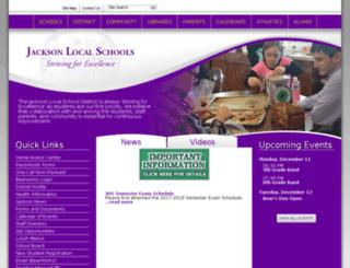 jackson.sparcc.org screenshot