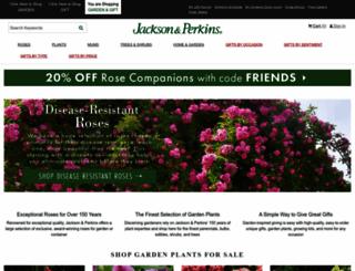 jacksonandperkins.com screenshot