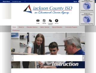 jacksoncisd.schoolwires.com screenshot