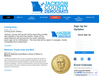 jacksondems.ngpvanhost.com screenshot