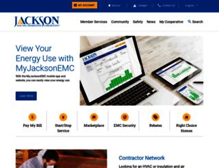 jacksonemc.com screenshot