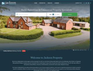 jacksonequestrian.com screenshot