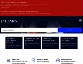 jacksongov.org screenshot