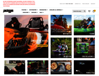 jacksonkayak.com screenshot