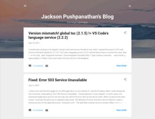 jacksonpushpanathan.blogspot.co.uk screenshot