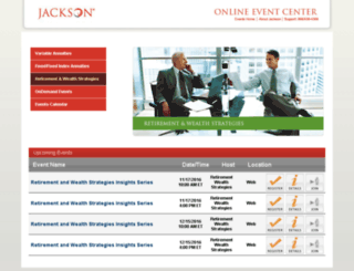 jacksonrwsevents.fugent.com screenshot