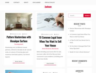 jacksonsrestaurant.com.au screenshot