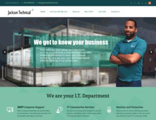 jacksontechnical.com screenshot
