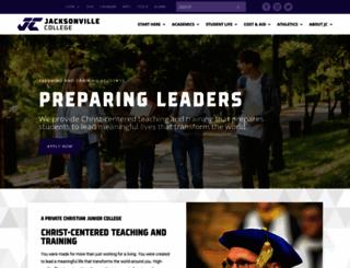 jacksonville-college.edu screenshot
