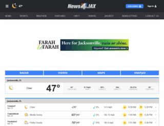 jacksonville.justweather.com screenshot