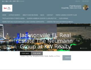 jacksonvilleflrealestateviews.com screenshot