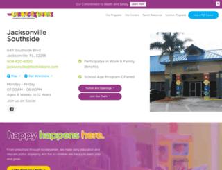 jacksonvillesouthside.tlechildcare.com screenshot