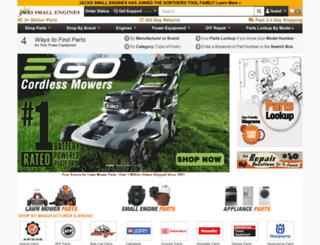 jackssmallengines.com screenshot