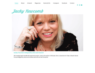 jackynewcomb.co.uk screenshot