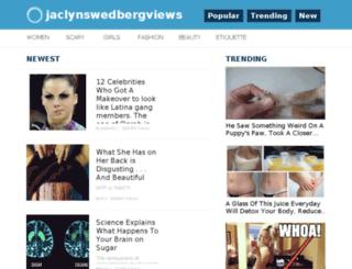 jaclynswedbergviews.me screenshot