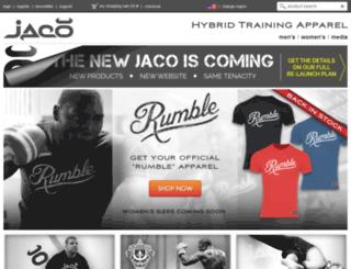 jacoapparel.com screenshot