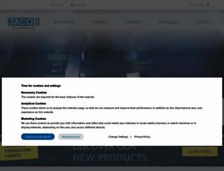 jacob-pipesystems.com screenshot