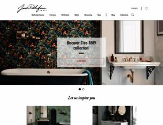 jacobdelafon.com screenshot
