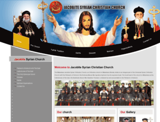 jacobitesyrianchurch.org screenshot